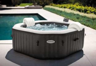 Vířivý bazén v luxusním provedení