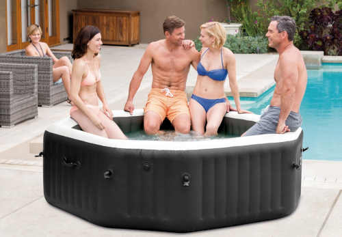 venkovní luxusní vířivý bazén Intex