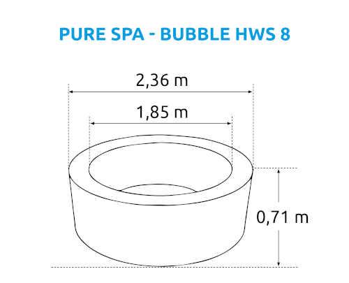 vířivý bazén Pure Spa Marimex